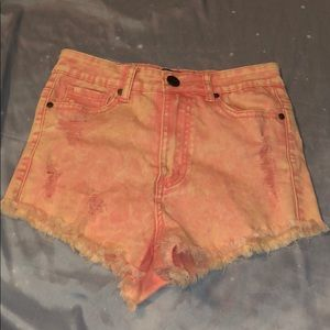 High waisted shorts size xs
